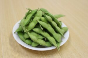 green-soybeans